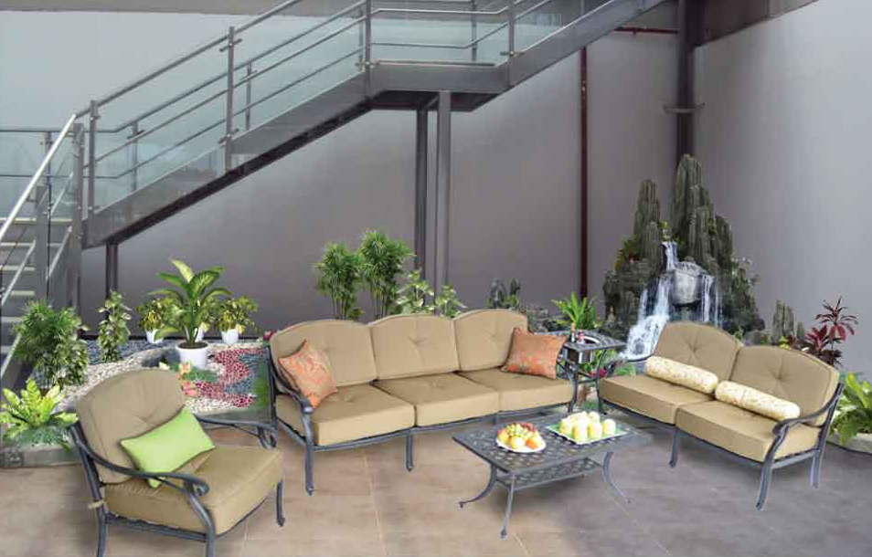 NASSAU SEATING GRUP-21X42 Rect, Coffee Table,  21-in Square End Table with Ice-Bucket, Sofa Loveseat Club Chair