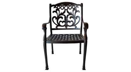 "LD1238-1 Mandalay Dining Chair - Total Sizes W24xD27 H36-Seat Sizes W22xD21xH16-Arm H25""-Weight 27 lbs"